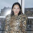 Tina Leung - Défilé de mode Maison Schiaparelli, collection haute couture Printemps-Eté 2018, à Paris. Le 22 janvier 2018 © Olivier Borde / Bestimage