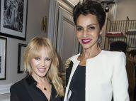 Kylie Minogue divine au côté de Farida Khelfa pour la couture Schiaparelli