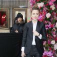 Melissa George - Défilé de mode Maison Schiaparelli, collection haute couture Printemps-Eté 2018, à Paris. Le 22 janvier 2018 © CVS - Veeren / Bestimage