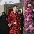 Caroline Issa - Défilé de mode Maison Schiaparelli, collection haute couture Printemps-Eté 2018, à Paris. Le 22 janvier 2018 © CVS - Veeren / Bestimage