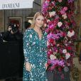 Lady Kitty Spencer - Défilé de mode Maison Schiaparelli, collection haute couture Printemps-Eté 2018, à Paris. Le 22 janvier 2018 © CVS - Veeren / Bestimage