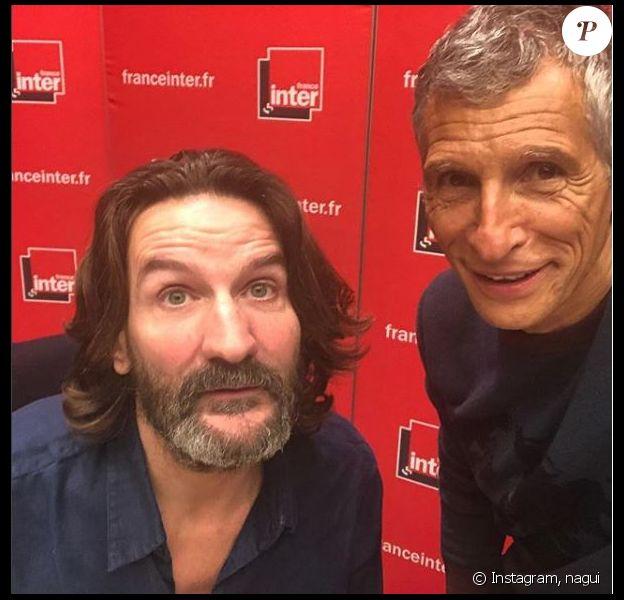 Nagui et Frédéric Beigbeder, France Inter, 23 janvier 2018