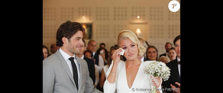 Katrina Patchett et Valentin d'Hoore à leur mariage - 1er septembre 2017, Instagram