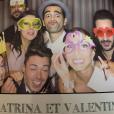 """Mariage de Katrina Patchett et Valentin. Le 1er semtembre 2017. Ils étaient entourés de parcipants à """"Danse avec les stars"""" et """"Koh-Lanta""""."""
