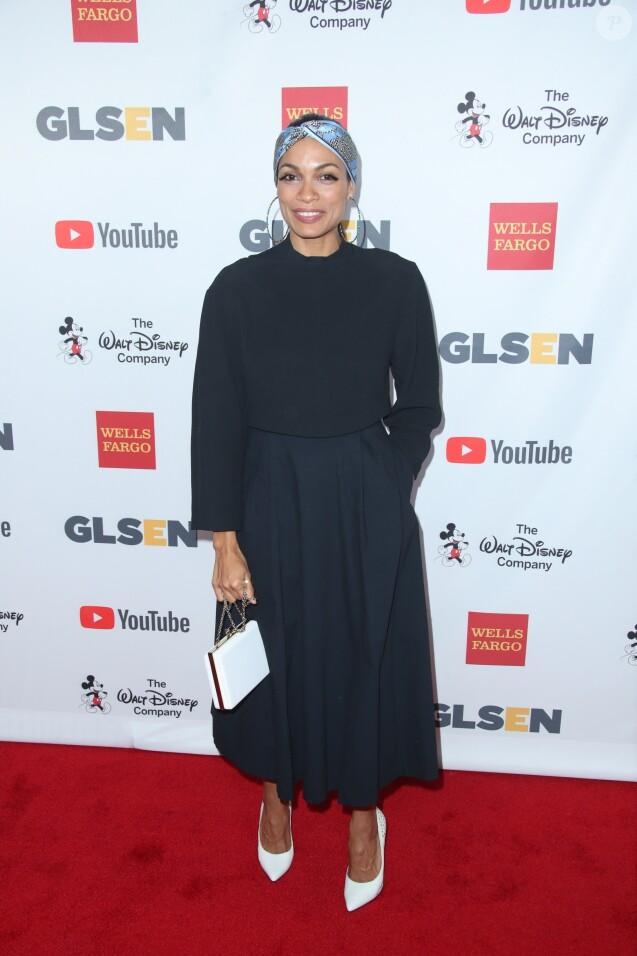 Rosario Dawson à Los Angeles le 20 octobre 2017.