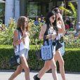 Sofia Richie, Kylie et Kendall Jenner lors d'une journée shopping à Calabasas, Los Angeles, en septembre 2013