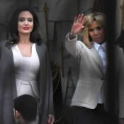 Angelina Jolie reçue par Brigitte Macron à l'Elysée, avant de retrouver Guerlain