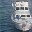 """Extrait du JT annonçant la mort de Natalie Wood, le 29 novembre 1981. Image du Splendour, le yacht de l'actrice. Pour l'émission """"48 Hours"""" sur CBS."""