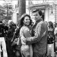 Natalie Wood et Robert Wagner au Festival de Cannes, le 15 mai 1976.