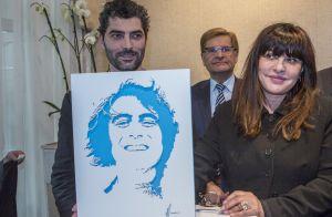 Michel Delpech : Son séduisant beau-fils et sa veuve réunis pour un hommage
