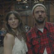 "Jessica Biel lovée contre Justin Timberlake dans ""Man of the Woods"""