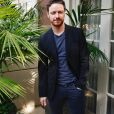 "James McAvoy à la conférence de presse de ""Split"" à l'hôtel Four Seasons de Beverly Hills. Los Angeles, le 16 novembre 2016."