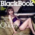 La très sexy Christina Ricci... en couverture de BlackBook !