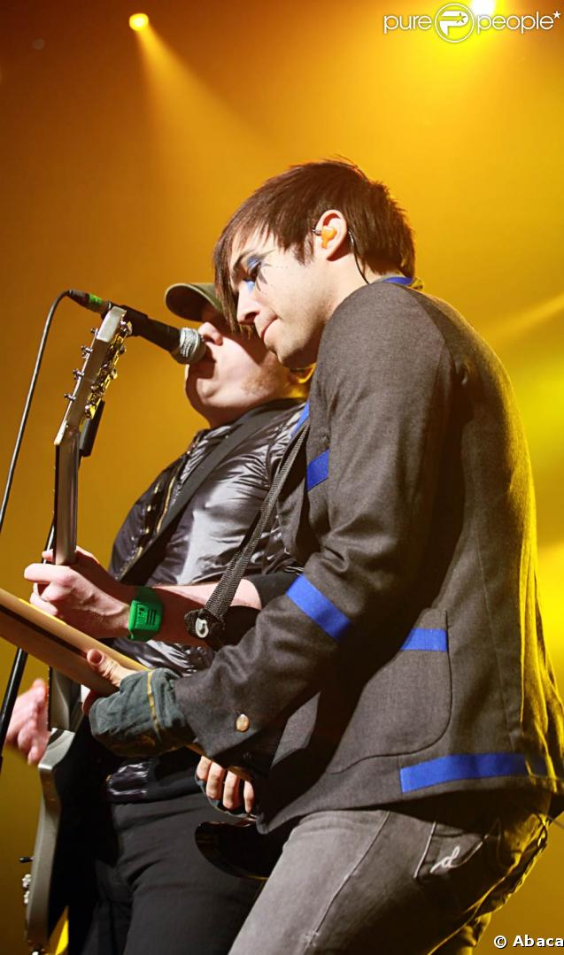Pete Wentz et Patrick Stump : les Fall Out Boy en concert à Montpellier le 14 mars 2009