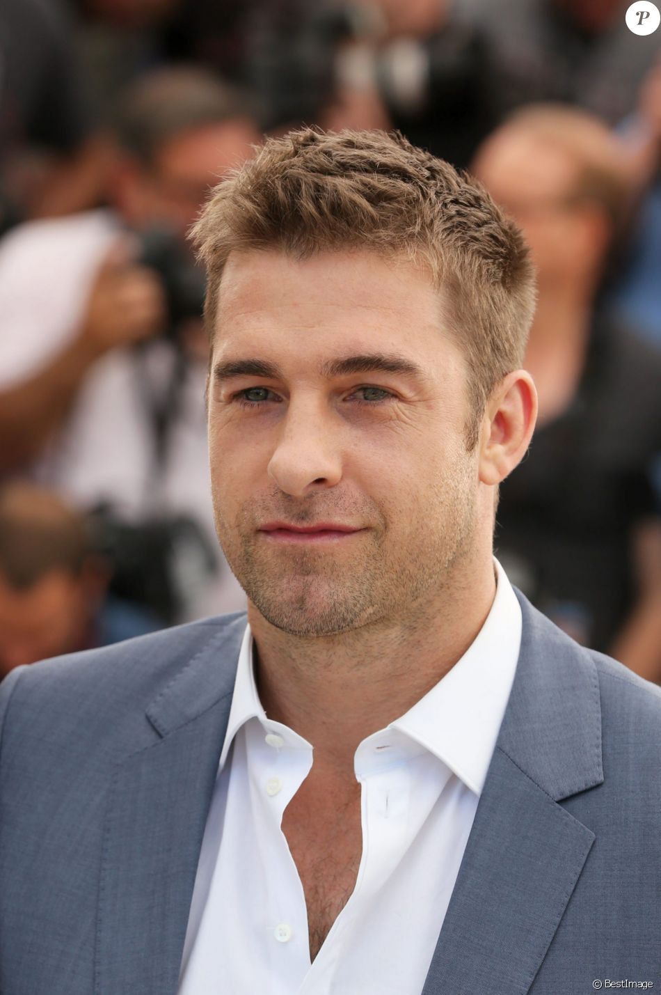 "Scott Speedman - Photocall du film ""Captives"" au 67e Festival du Film de Cannes, le 16 mai 2014."