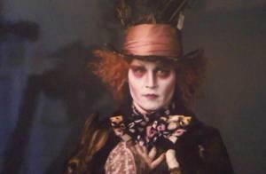 Johnny Depp et les premières images d'Alice au Pays des Merveilles ! C'est juste... merveilleux !