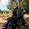 Johnny Hallyday et sa bande en plein road trip à travers les Etats-Unis - Départ pour le Texas de la Nouvelle-Orléans, il y a semaine, le 16 septembre 2016.