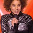 """Mélody lors des auditions à l'aveugle de """"The Voice 7"""" (TF1) samedi 10 février 2018."""