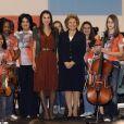 Rania de Jordanie, une vraie princesse avec les enfants au Portugal mardi 17 mars