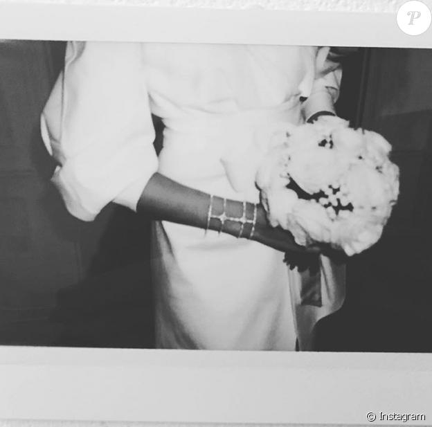 Ophélie Meunier s'est mariée, et dévoile une photo de sa robe