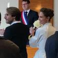 Mariage d'Ophélie Meunier et Mathieu Vergne, samedi 10 février 2018, mairie du 17e arrondissement de Paris.