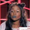 "Karolyn de ""The Voice 7"", samedi 10 février 2017, TF1"