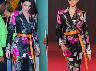 Kendall Jenner : Beauté florale au côté de Bella Hadid et Kaia Gerber