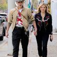 Brooklyn Beckham, sa petite amie Chloë Grace Moretz et des amis à Los Angeles. Le 10 février 2018.
