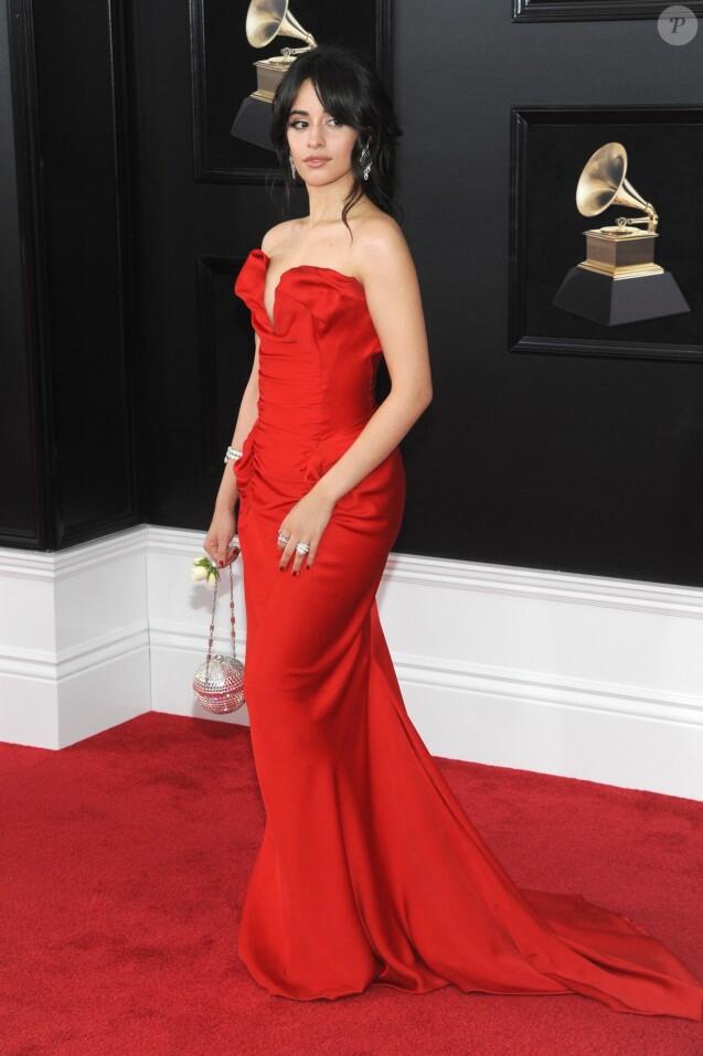Camila Cabello à la 60ème soirée annuelle des Grammy Awards à Madison Square Garden à New York, le 28 janvier 2018