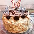Cathy Guetta a publié le 9 février 2018 une photo du gateau d'anniversaire de son fils Elvis, né de son mariage avec David Guetta.