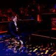 """Le comédien et chanteur Frédéric Longbois dans """"The Voice 7"""" sur TF1, le 3 février 2018."""