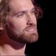Simon Morin dans The Voice 7, le 17 février 2018 sur TF1.