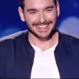 """Gabriel dans """"The Voice 7"""" sur TF1 le 17 février 2018."""