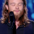 """Guillaume dans """"The Voice 7"""" sur TF1 le 17 février 2018."""