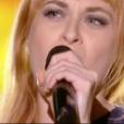Luna Gritt dans The Voice 7 sur TF1, le 17 février 2018.