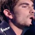 """Nicolay Sanson dans """"The Voice 7"""" sur TF1 le 17 février 2018."""