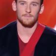 Casanova dans The Voice 7 sur TF1, le 17 février 2018.