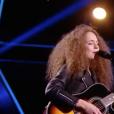 """Milena dans """"The Voice 7"""" sur TF1, le 17 février 2018."""