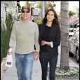 Bruce Willis et sa compagne Emma Heming le 6 mars 2009