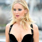 Jennifer Lawrence : Sa robe ultradécolletée choque les internautes...