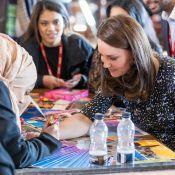 Kate Middleton enceinte: Tatouage au henné, casque de chantier, elle essaye tout