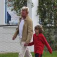 Boris Becker et son fils Elias