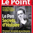 """Couverture du magazine """"Le Point"""", numéro du 22 février 2018."""