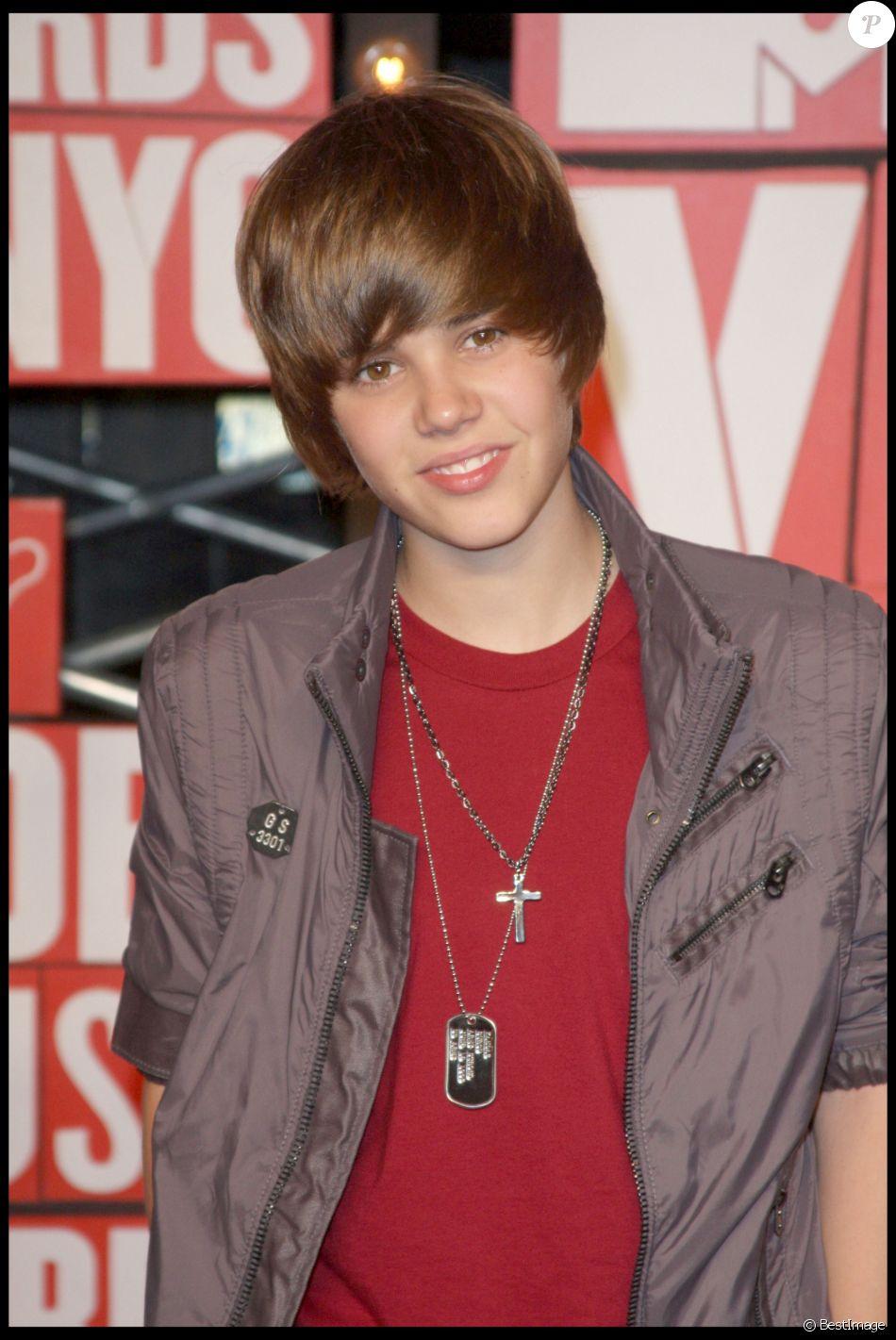 Justin Bieber à la 25e édition des MTV Music Awards à New York le 13 septembre 2009