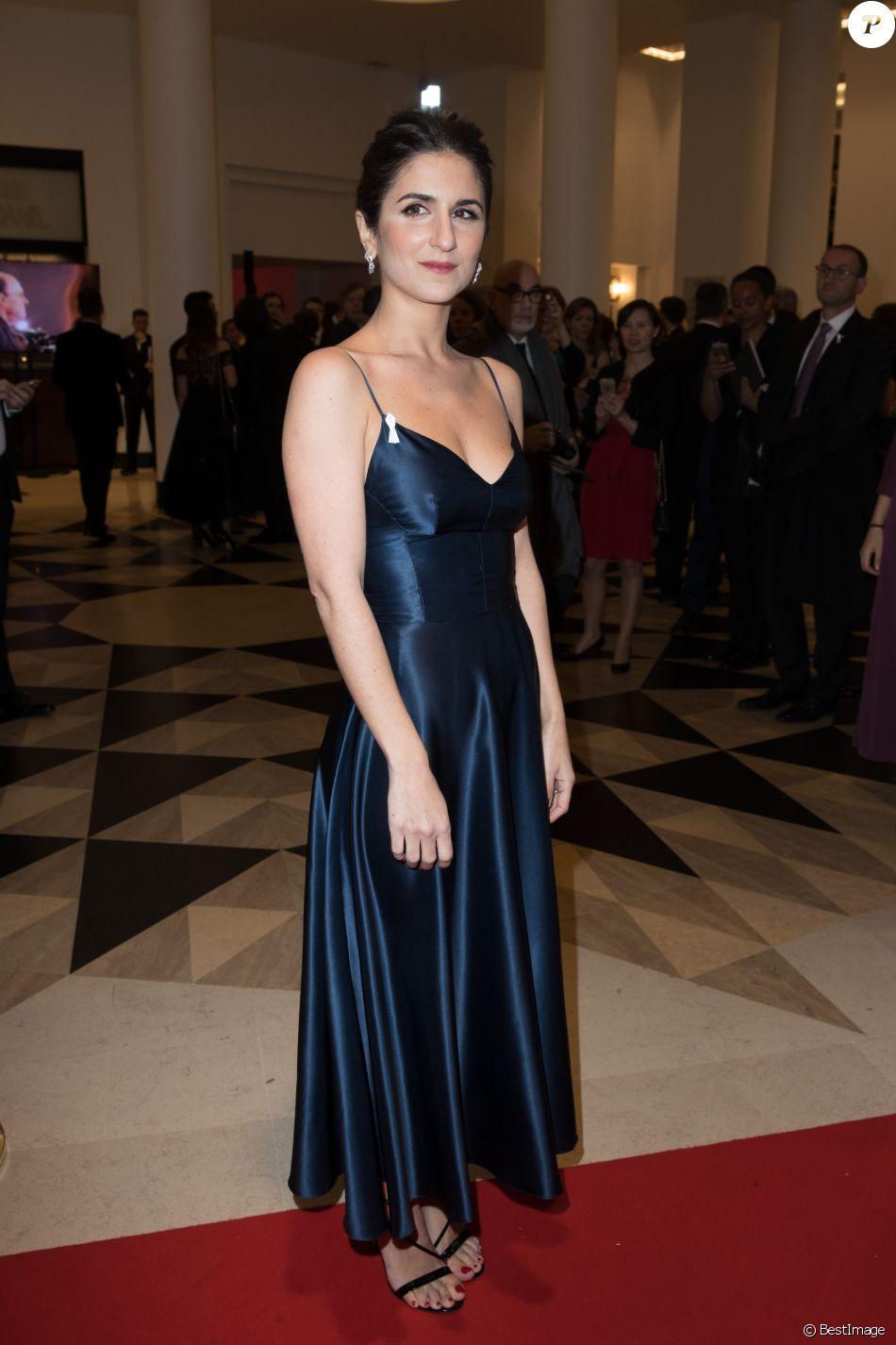 M6 0 60 >> Geraldine Nakache - Arrivées lors de la 43ème cérémonie des Cesar à la salle Pleyel à Paris, le ...