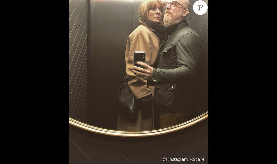 Véronic DiCaire et Rémon à Londres. Instagram, mars 2018