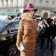 """Arizona Muse - Défilé de mode prêt à porter Automne Hiver 2018/2019 """"Stella McCartney"""" à l'Opéra Garnier. Paris, le 5 mars 2018. © CVS-Veeren/Bestimage"""
