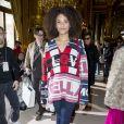 """Stéfi Celma - Défilé de mode prêt à porter Automne Hiver 2018/2019 """"Stella McCartney"""" à l'Opéra Garnier. Paris, le 5 mars 2018. © Olivier Borde / Bestimage"""
