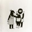 Les petites taupes héroïnes des deux prochains livres de Lolita Séchan, janvier 2018.