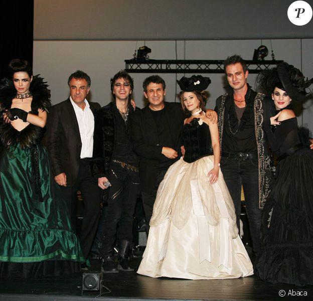 La troupe de Mozart, l'Opéra Rock avec Dove Attia et Albert Cohen au théâtre Marigny, le 23 mars 2009.
